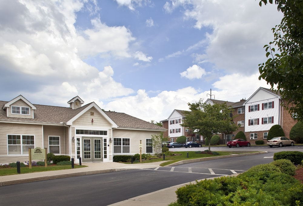 Saunders Crossing Apartments, managed by Dolben, in Lawrence, Massachusetts