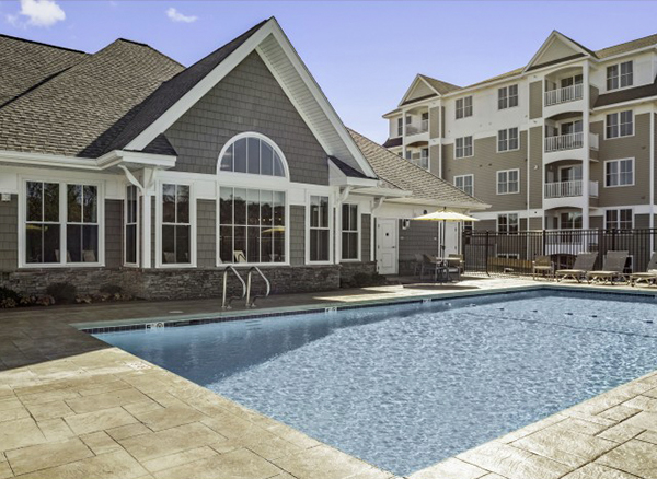The Residences at Great Pond Apartments, managed by Dolben, in Randolph, MA