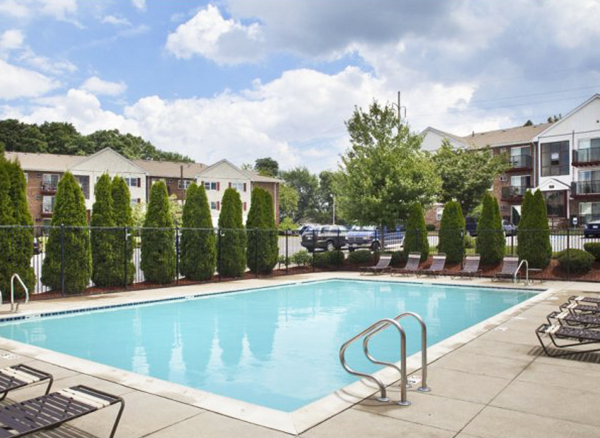 The Saunders Crossing Apartments, managed by Dolben, in Lawrence, Massachusetts