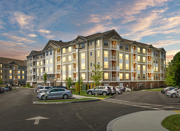 The Gradient Apartments, managed by Dolben, in Weymouth, Massachusetts
