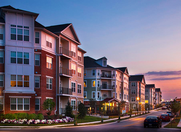 The Verde Howard Square Apartments, managed by Dolben, in Elkridge, Maryland