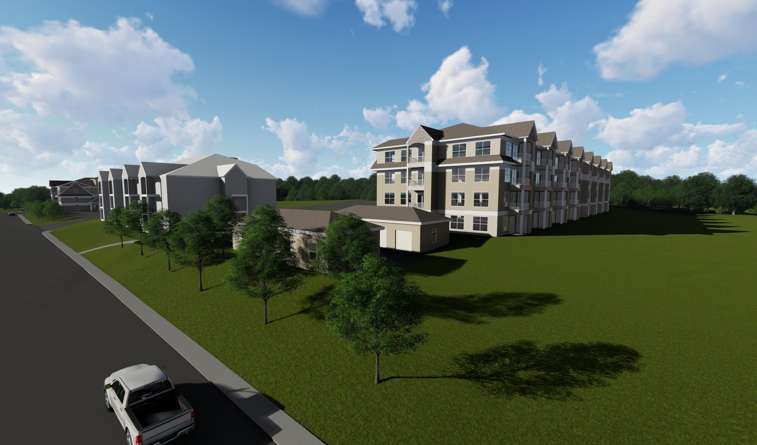 Rendering photo of Traders Row Apartments in Salem, MA